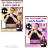New 2-DVD Set - ASL Handshape Series: 2 Index Fingers, Vol. 1-2