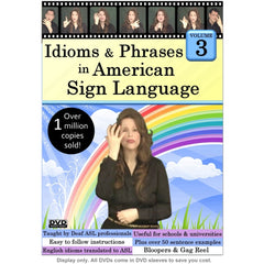 Idioms & Phrases in American Sign Language, Volume 3