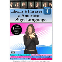 Idioms & Phrases in American Sign Language, Volume 4