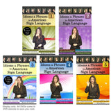 Idioms & Phrases in ASL, Vol. 1-5 (5-DVD Set) with NEW ASL Glosses Book