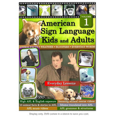 American Sign Language for Kids & Adults, Vol. 1: Everyday Lessons