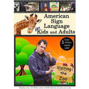 American Sign Language for Kids & Adults, Vol. 2: Visiting the Zoo