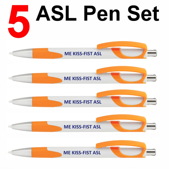 NEW! Set of 5 Orange
