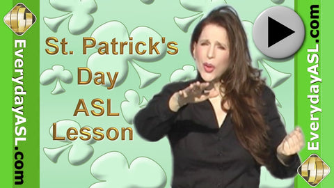 American Sign Language Everyday Words: Activities & Events