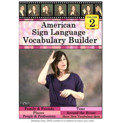 American Sign Language Vocabulary Builder, Vol. 2