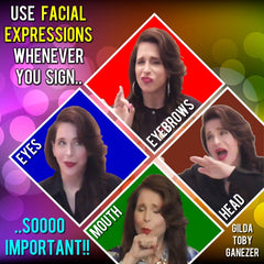 NEW! You Use Facial Expressions Poster - Signed by Artist - FREE Ship!
