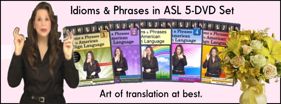 Welcome to Everyday ASL Productions, Ltd. - Home of the ASL Educational 