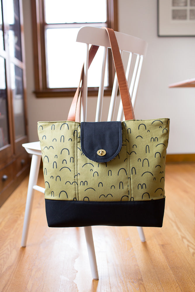 Explorer Tote Pattern from Noodlehead
