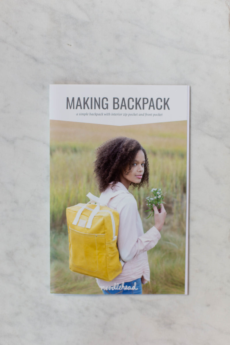 Making Backpack Pattern