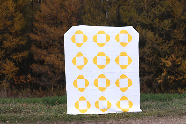 Sunny Side Up Quilt & Pillow PDF Pattern