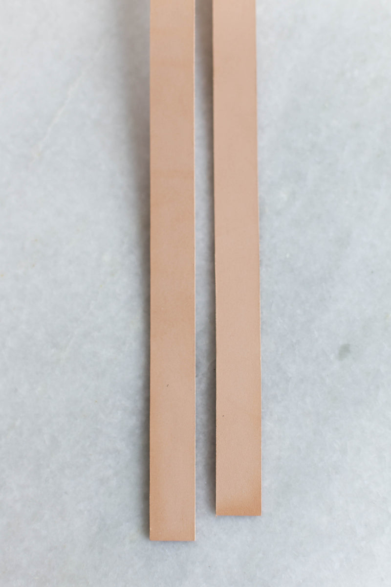 "Leather Handles (3/4""-wide)"