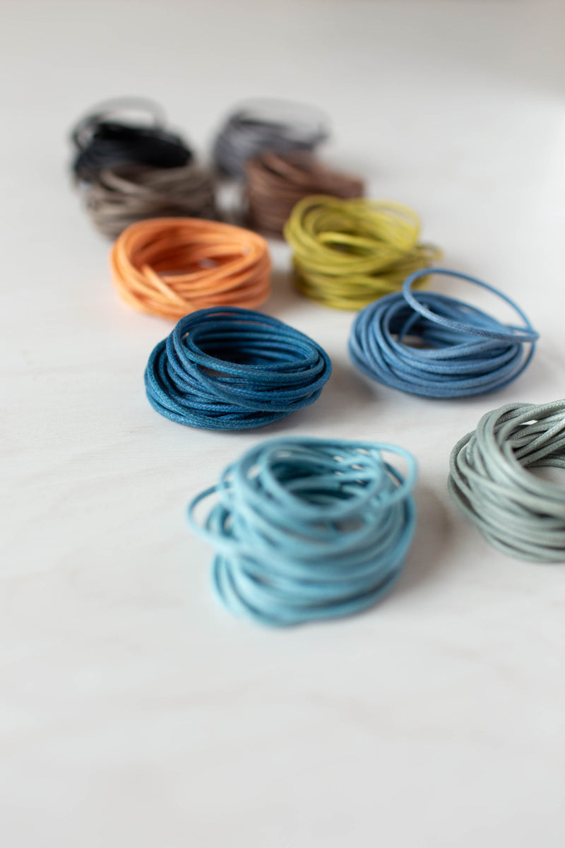 Waxed Cotton Cord - 3 yards