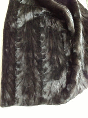 Mink plate #90 (Natural black back paw mink)