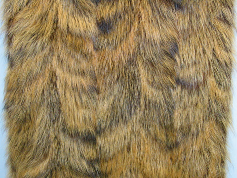Tobacco raccoon paw fur plate #24