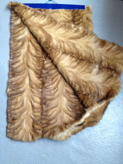 Sable plate #130 (Canadian golden sable paw)