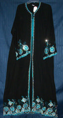 Abaya Dubai 1096 Arabian Black Abaya Sheela Muslim Wear Shieno