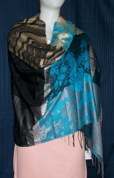 Shawl Wrap Gray