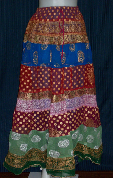 Skirt Multicolored Cotton