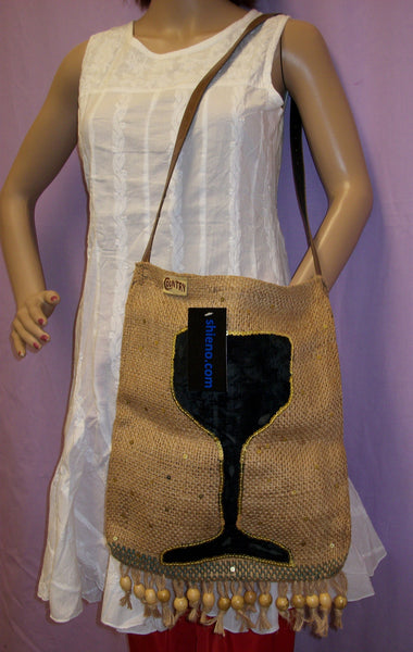 Tote Bag 146 Jute Multi Use Shoulder Bag Shieno