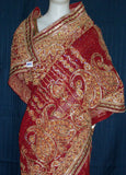 Saree Red Chiffon