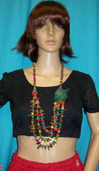 Necklace 168  Multi-Color Beads Necklace and Bracelet Set Jewelry