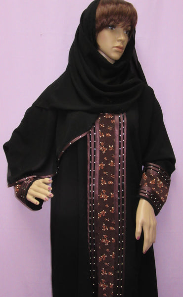 Abaya Dubai Black Sheela