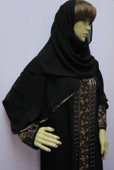 Abaya 1928 Dubai Black Abaya Sheela Muslim Wear Shieno Sarees Pleasanton
