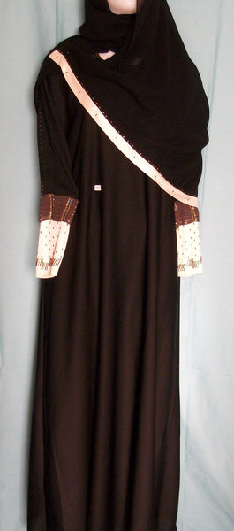 Abaya 1948 Dubai Black Sheela Shieno Sarees