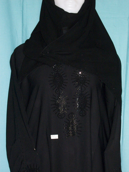 Abaya 1958 Dubai Black Sheela Shieno Sarees