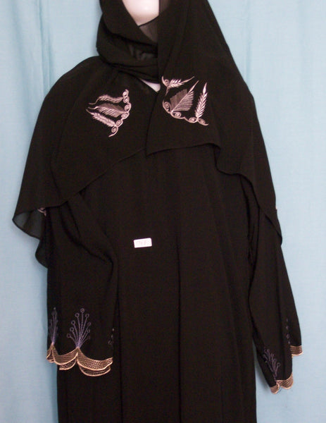 Abaya 1969 Dubai Black Sheela Shieno Sarees Pleasanton