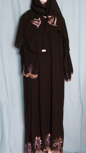 Abaya Dubai Black Sheela Shieno Sarees Pleasanton