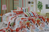 Bedding 2062 Duvet Cover Set Queen Cotton Printed