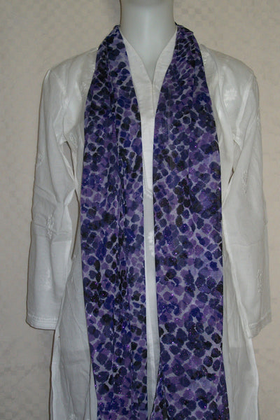 Scarf Stole Wrap Shawl Purple
