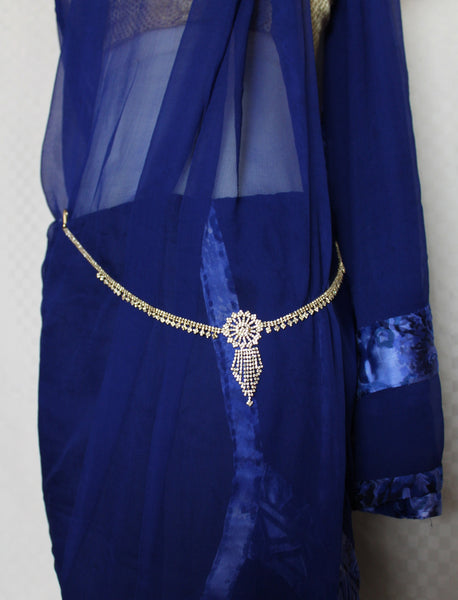 Waist Belt 2174 Golden Saree Belt Kamar Band Bikini Belt Shieno Sarees
