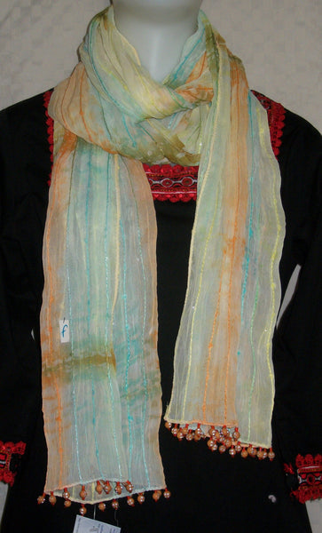 Scarf 2430 Multi Color Dupatta Chunni Shawl Wrap Shieno