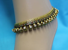 Anklet Payal 2528 Bronze Indian Payal Anklet Shieno Sarees