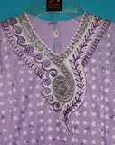 Girl's Anarkali Set Lilac