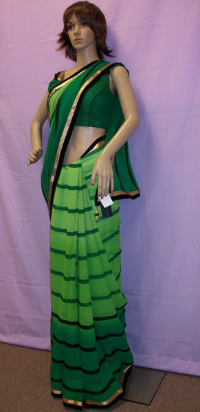 Saree 3498 Chiffon Saree Shieno Sarees San Francisco Bay Area
