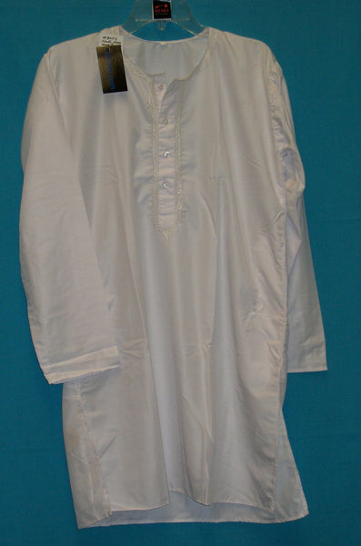 Men's Kurta Pajama 3618 White Small Medium X Large Kurta Shieno Sarees