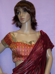 Choli 3736 Red Saree Blouse S M L Choli Shieno Sarees