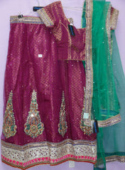 Lehenga 5299 Indian Wedding Lehenga Choli Blouse Shieno Sarees Pleasanton