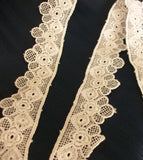 Trim 534 White Lace Eyelet Craft Trims Embellishment Shieno Sarees