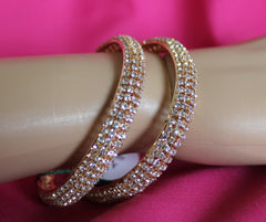 Bangles 5488 Golden Bangle Kadra Indian Bracelet Jewelry Shieno Sarees