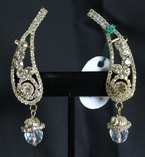 Earrings 5894 Indian Jewelry Shieno Sarees