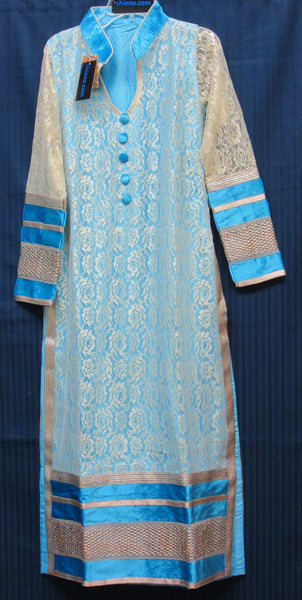 Churidar 5977 Salwar Kameez Long Straight Kameez Churidar Shieno