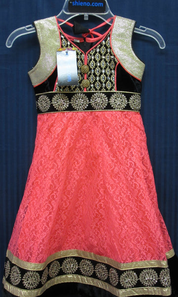 Girl's 7543 Anarkali Suit Indian Party Wear Shieno Sarees