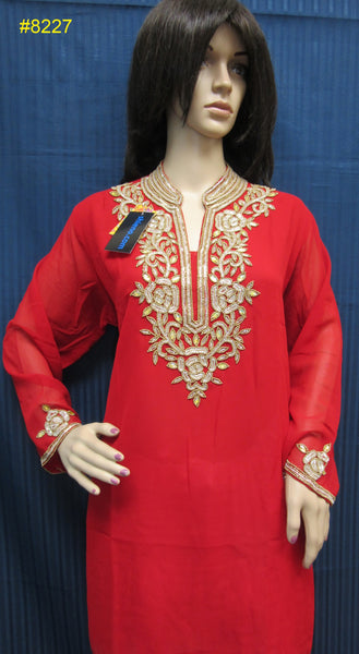 Blouse 8233 Georgette Assorted Tops Kurti Assorted Size