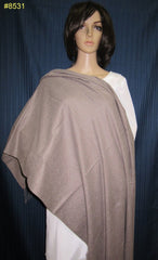 Shawl 8531 Plum Woolen Authentic Kashmiri Cashmere Shawl Wrap