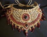 Bridal Set 975 Polki Indian Bridal Ethnic Jewelry Necklace Set