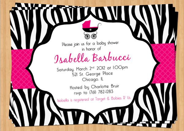 "baby shower tagged ""baby girl shower""  olive press paper, Baby shower invitation"